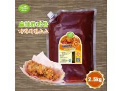 韩式麻辣炸鸡酱圃绿纳韩餐酱料韩式调料可定制研发2.5kg*6