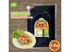 韩式烤猪肉腌料圃绿纳韩餐酱料韩式调料可定制研发2.5kg*6