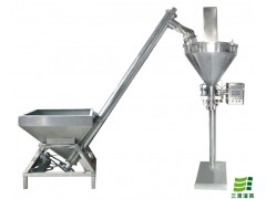 半自动粉末包装机 自动面粉灌装机 粉末下料螺杆机厂家