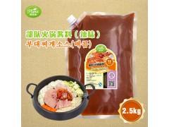 部队火锅酱料(辣味)圃绿纳韩餐酱料定制研发2.5kg*6