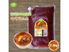 韩式辣牛肉汤料圃绿纳韩餐酱料可定制研发代工改良2.5kg*6