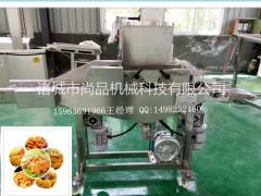 速冻调理半成品—猪排成型机 上浆机 上糠机 油炸机(安装 )