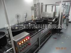 自动薯片设备 全自动速冻薯片油炸机 薯片油炸流水线 尚品机械
