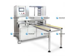 月饼自动排盘机 月饼机生产线 智能调速月饼排盘机