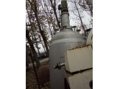 处理二手3000L不锈钢强力刮壁搅拌反应釜
