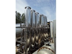 30吨四校无体降膜蒸发器处理