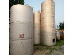 食品厂转让二手不锈钢储罐多台1-100吨打包出售
