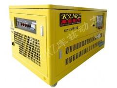 库兹15千瓦静音箱式汽油发电机厂家报价