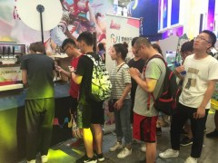2017CHINA JOY游戏展会现场冰淇淋机临时租赁商场