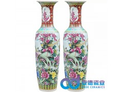 落地陶瓷大花瓶,景德镇陶瓷大花瓶