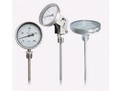 wss-305双金属温度计价格0-250度温度计