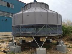 高温杀菌锅降温冷却塔风度300T圆形玻璃钢冷却水塔