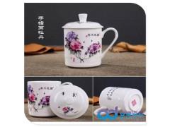 景德镇陶瓷茶杯  高档陶瓷茶杯   高档酒店陶瓷茶杯
