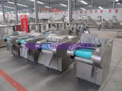 电动豆角切段机 自动芹菜切段机