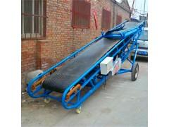 加工定做自动化皮带输送机 粮食作物防滑爬坡机