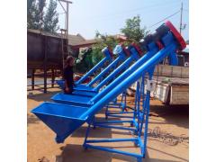 厂家专业生产沙子提升机 管式螺旋绞龙输送机 可按客户要求定制