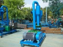 气力输送机煤灰渣装车气力输送机 矿碎颗粒装车打垛气力输送机