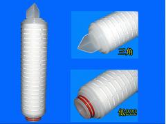10寸聚丙烯折叠滤芯,pp折叠滤芯,