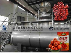 红枣脆真空油浴脱水干燥机、大型红枣深加工设备、红枣真空油炸机