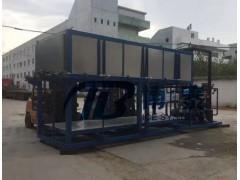 50吨直冷冰砖机价格,大型制冰机生产1吨冰块电费60度