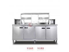 不锈钢台面吧台操作台不锈钢台面水吧台