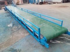 挡板式铝型材输送机 裙边加格挡PVC带输送机