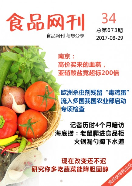 食品网刊2017年第673期