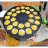 22孔车轮式鸡蛋汉堡机价格|鸡蛋汉堡炉厂家