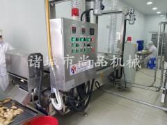 鱼块卤制入味机 全自动油炸生产线 油炸设备专业厂家—尚品机械