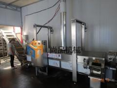 肉味素鸡煮制入味机 油炸机 全自动素鸡素鸭加工设备 尚品机械