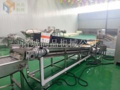 速冻法式地瓜条油炸机及配套生产线 红薯片工艺设备 尚品机械