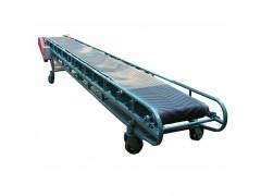 可移动带式输送设备 加挡边皮带输送机器 粮食装车输送机多少钱