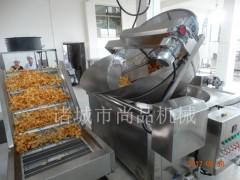 薯片油炸锅 自动出料式电加热薯片锅 电加热油炸设备 尚品