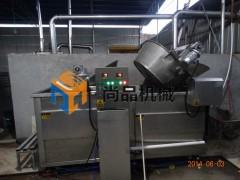 豆泡油炸机 电加热全自动油炸机 油豆腐油炸机 尚品机械