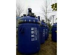 低价转让二手化工设备搪瓷反应釜 二手化工设备
