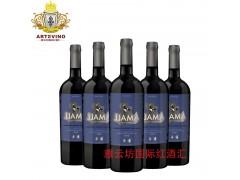 雅云坊国际红酒汇红酒招商加盟代理美洲驼佳美娜赤霞珠红葡萄酒
