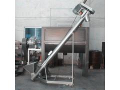 供应家用小管径螺旋提升机 饲料颗粒螺旋提升机