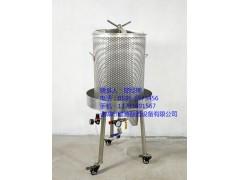 304不锈钢液压葡萄压榨机操作简单