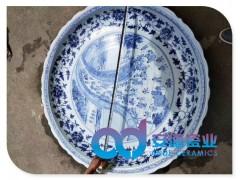 景德镇陶瓷大瓷盘 手绘陶瓷大瓷盘 陶瓷大瓷盘生产厂家