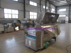 自动控温油炸机自动排渣式油水混合油炸锅
