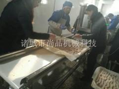 鸡排裹面包糠机 鸡肉上糠机 尚品机械专业生产