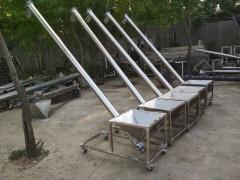 米面用不锈钢提升机 304材质加料绞龙 可移动上料机