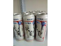 供应500毫升纯生易拉罐啤酒