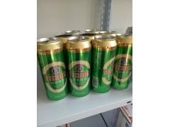 供应500毫升特质易拉罐啤酒