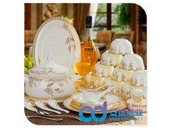 酒店摆台餐具,套装陶瓷餐具,高档礼品陶瓷餐具