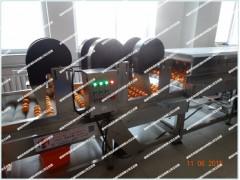 桔子清洗机 苹果毛刷式清洗设备 全自动果蔬清洗机 风干机