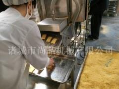 600型全自动鱼香肉饼上面包屑机