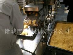 土豆饼上屑机 芋头薯饼自动上面包屑机
