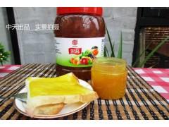 菠萝果酱 烘焙面包夹心蛋糕甜品冰沙水吧果酱饮料