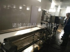 面包虾专用浸浆机 裹糠机 全自动上浆上糠设备